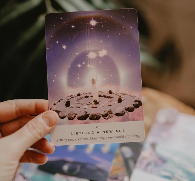 Go Forth Reader Of Cards