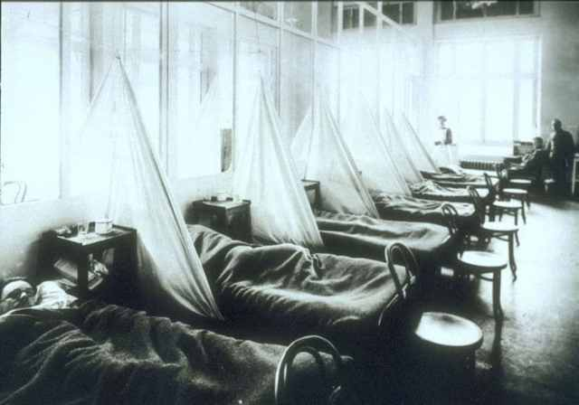 Victims of the Spanish flu