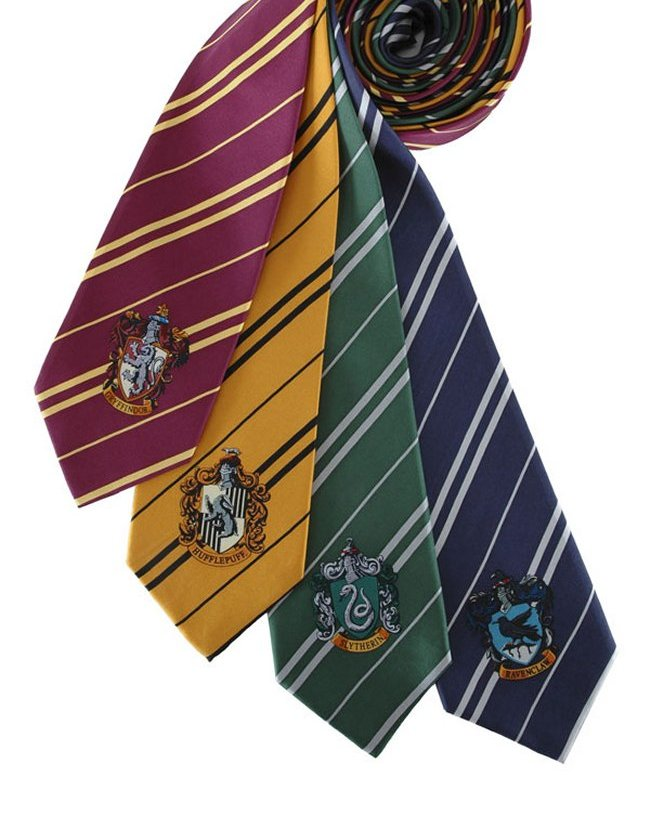Harry Potter House Crest Ties  Internet Vs WalletInternet