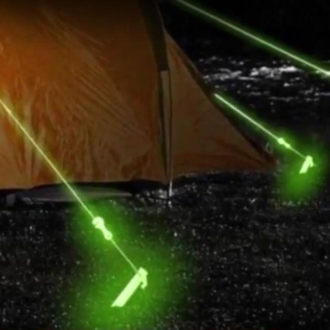 Glow In The Dark Tent Ropes  Internet Vs WalletInternet