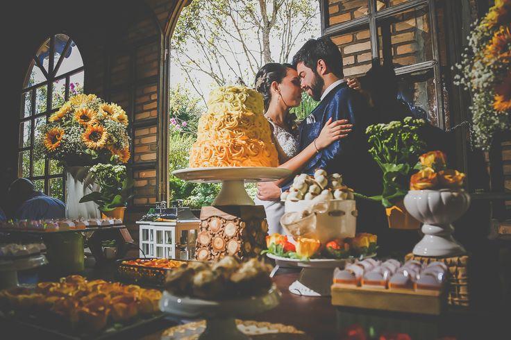 Girassis na Decorao de Casamento  Internovias