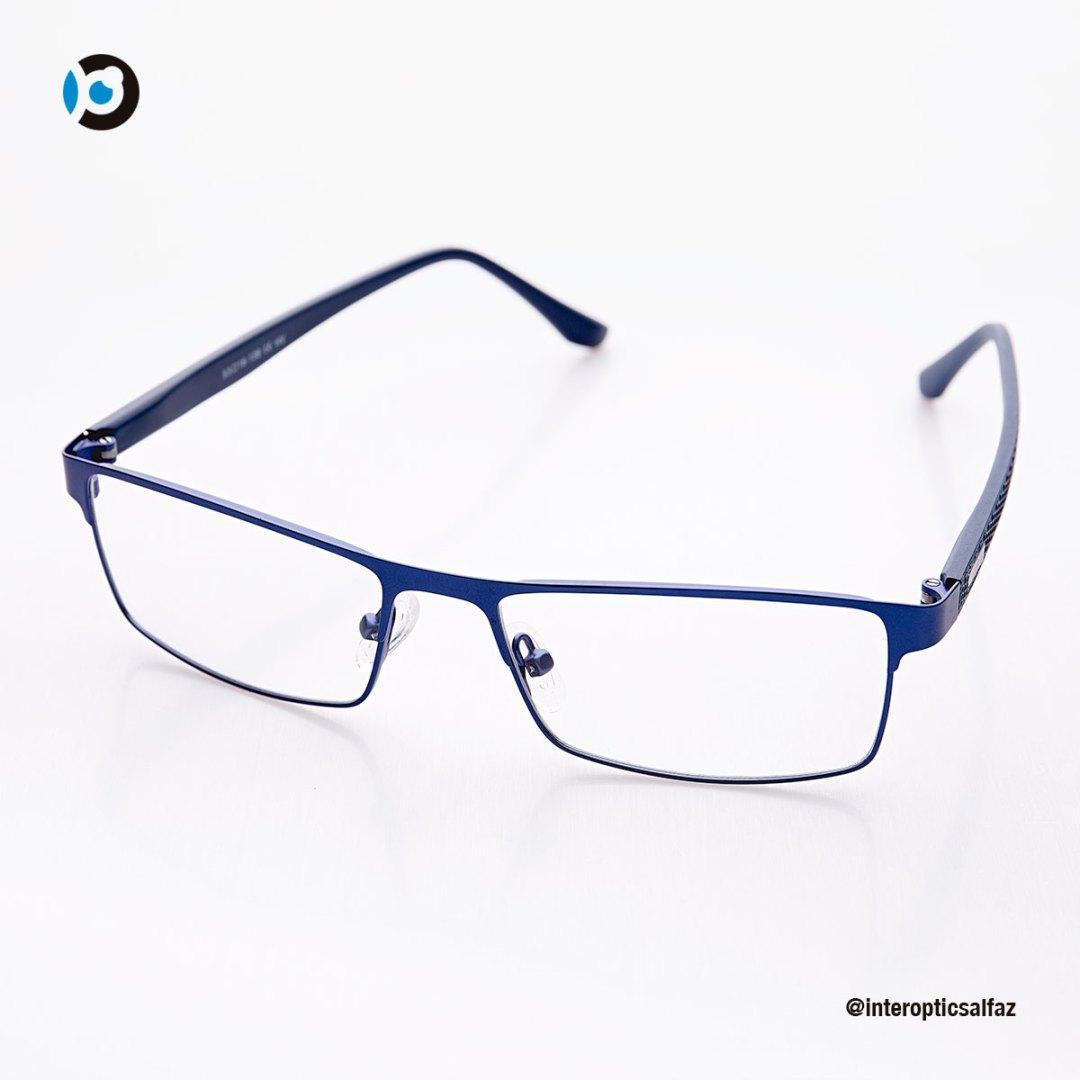 Gafas graduadas - azul metálico