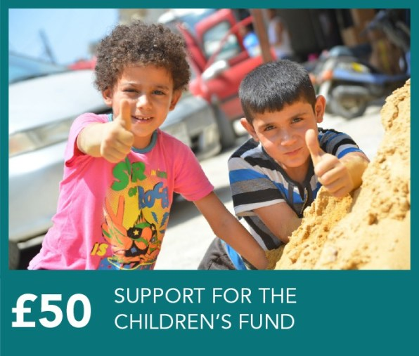 £50 Support for Interpal's Children Fund