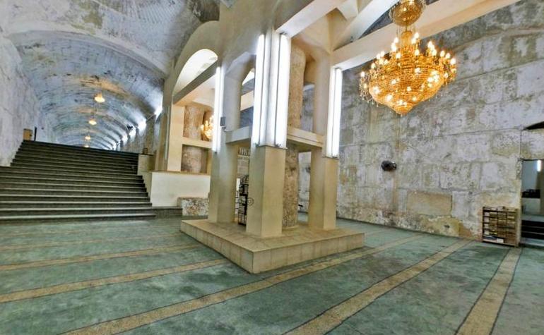 Prophet Solaiman (pbuh) basement Al Aqsa
