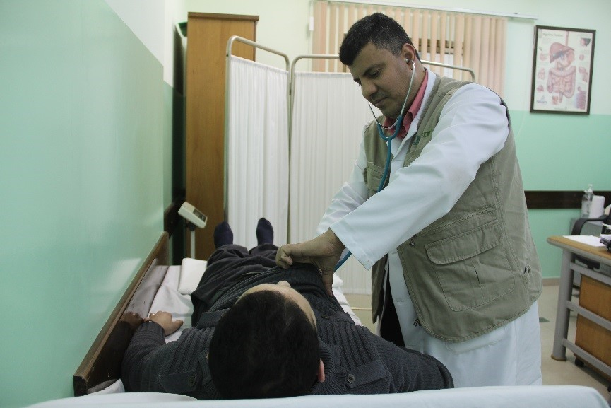 An Interpal sponsored Palestinian doctor