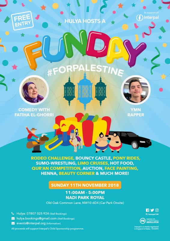 Hulya Hosts a Funday for Palestine