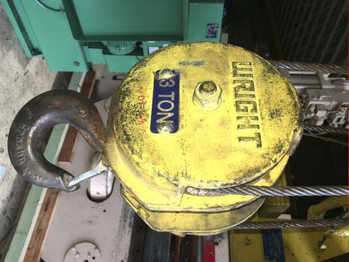 small resolution of hoists chain cable