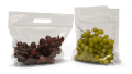 """Vented Plastic Produce Bags - 11"""" x 9.875"""" + 4"""" 2.5 mil"""