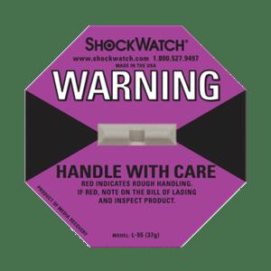 l 55 shockwatch label