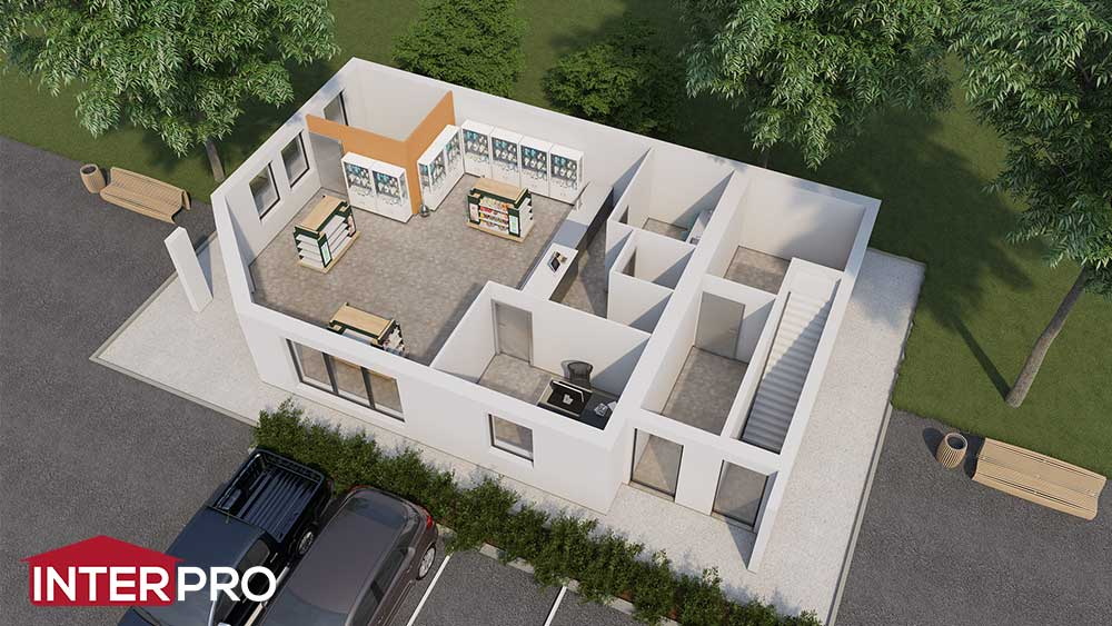 Plan Pharmacie Construction Neuve