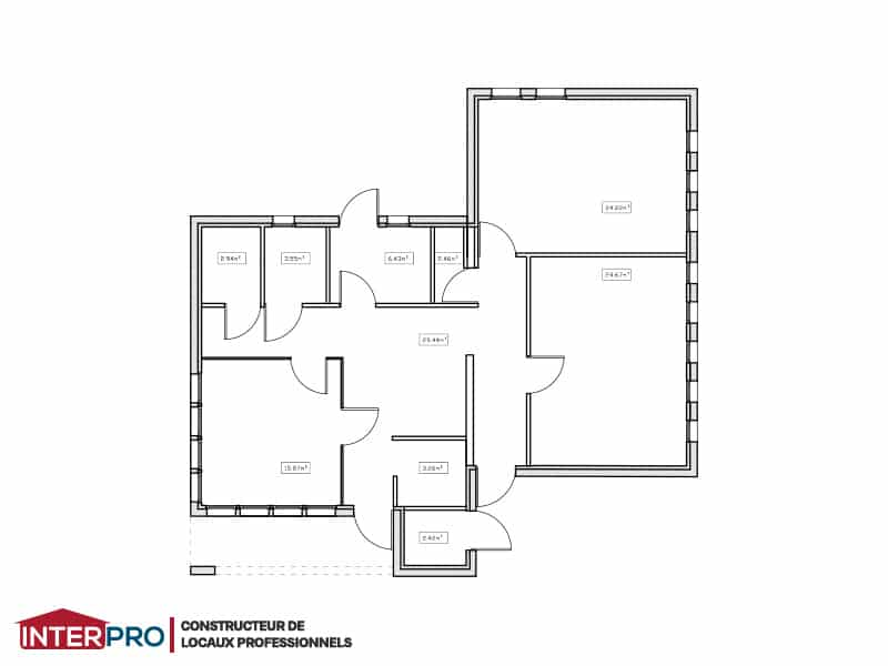 Plan Cabinet Mdical Moderne Construction Neuve