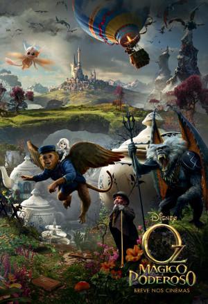 Oz, Mágico e Poderoso Poster