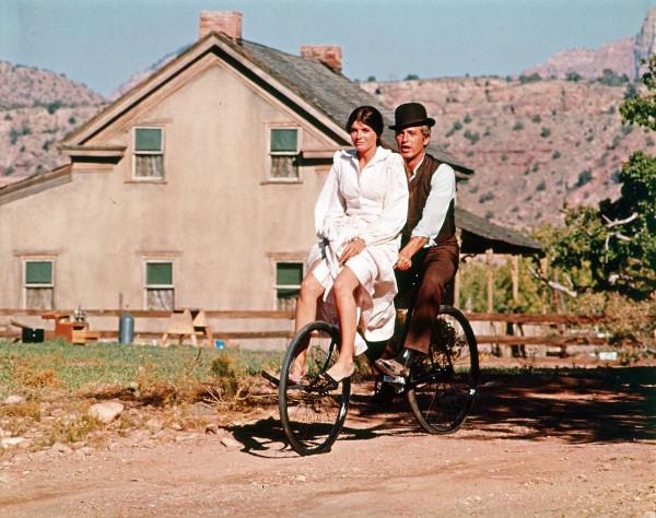 "Cena do filme ""Butch Cassidy and Sundance Kid"" (1969)"