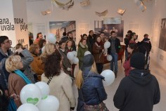 """Participants visited the exhibition """"Belgrade Atlas of Jovan Cvijic"""", at the Gallery of the Serbian Academy of Sciences and Arts"""