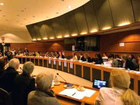 The Working Breakfast at the European Parliament, 21 April 2016, Brussels