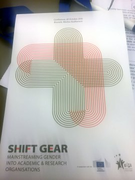 Intersection at Shift GEAR conference, October 2016, Brussels