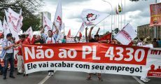 INTERSINDICAL vai a Brasília contra o PL 4330