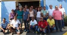 Sindicalistas químicos alemães fazem visita ao Unificados