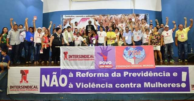 Direção Nacional Intersindical eleita - 2016/19 (1º Congresso Nacional)