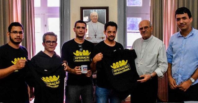 Sinpol/PE é recebido por Arcebispo