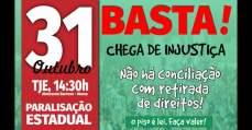 31 de outubro, Pará trabalhadores da educação paralisam atividades