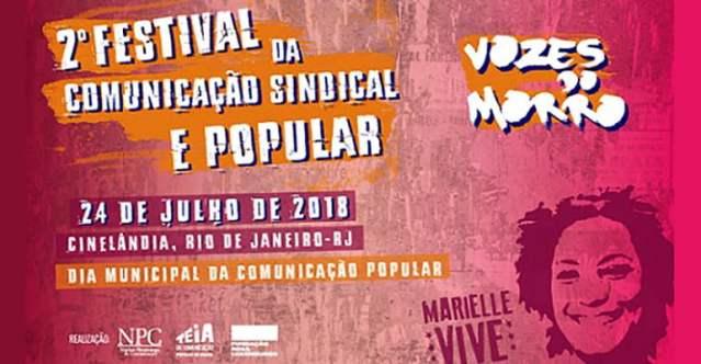 2º Festival da Comunicação Sindical e Popular: contribua!