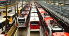 Motoristas se mobilizam para a greve em São Paulo