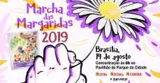 14 de agosto, marcha das margaridas, mão com margarida, mão com flor