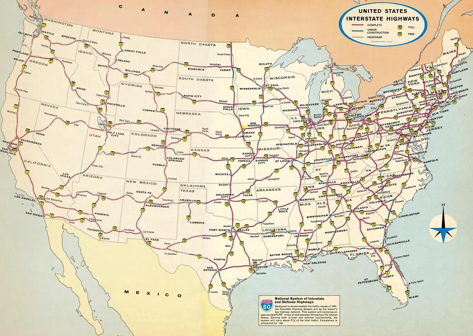 08/09/2021· us interstate map | interstate map of america in pdf. Aaroads Interstate Guide Interstate Guide Com