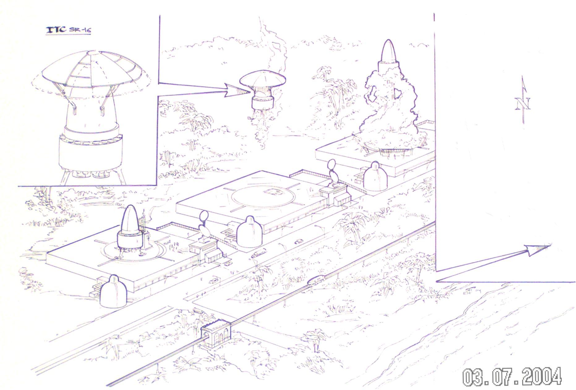 Click Thumbnail For A View Of A Proposed Space Port For