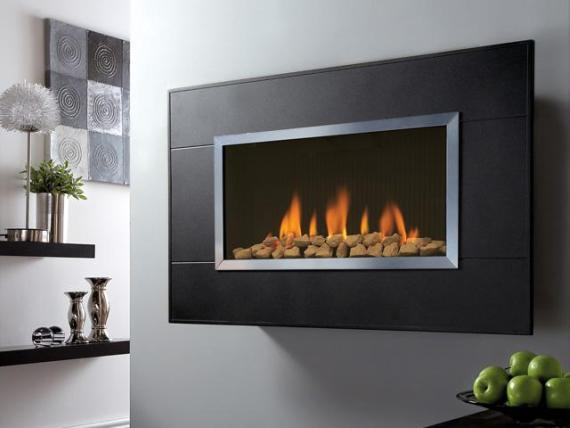 Wall Mounted Gas Fires and Flueless Fireplaces  InterstyleInterstyle
