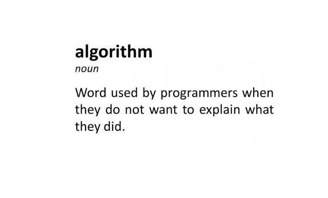 algorithm joke