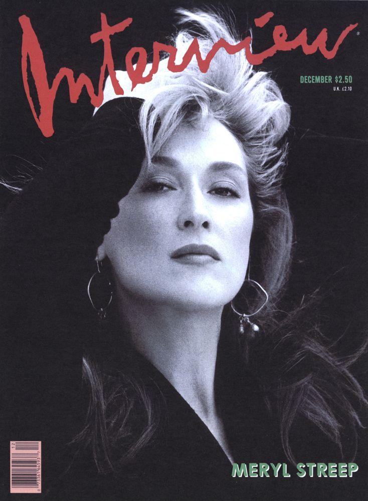 Meryl Streep  Interview Magazine