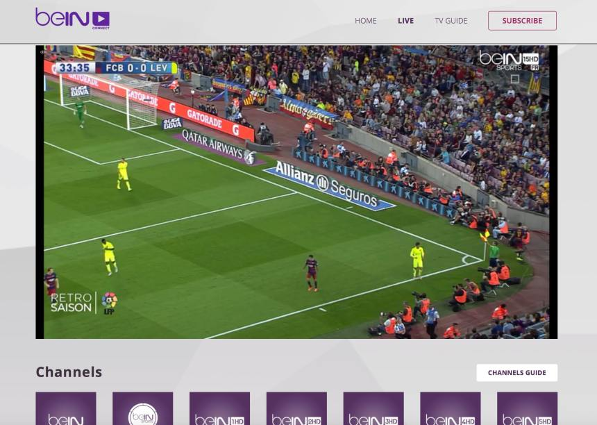 HD15 channel unblocked beinsportsconnect Error 3222