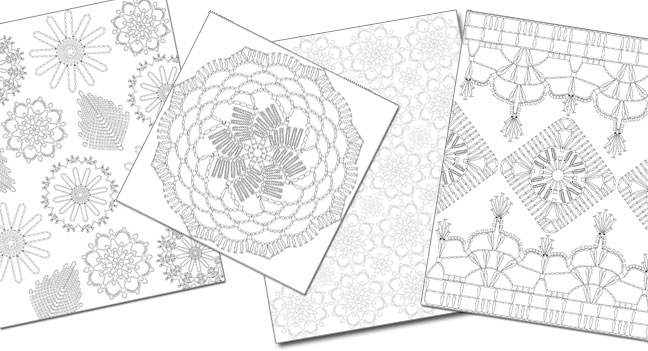 Crochet Coloring Book