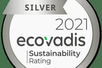 Ecovadis-CSR-Silver-medal