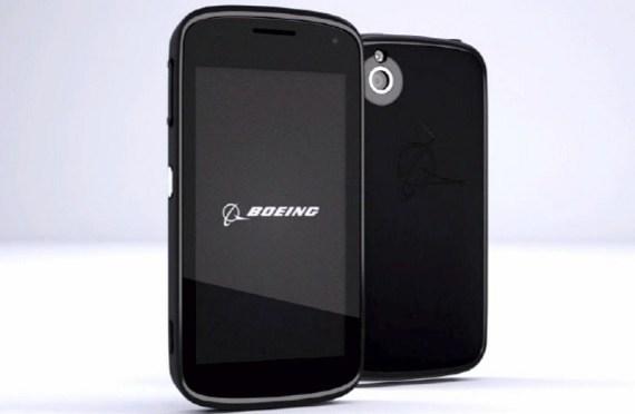 Boeing Black, un smartphone que se auto-destruye cuando se intenta desmontar
