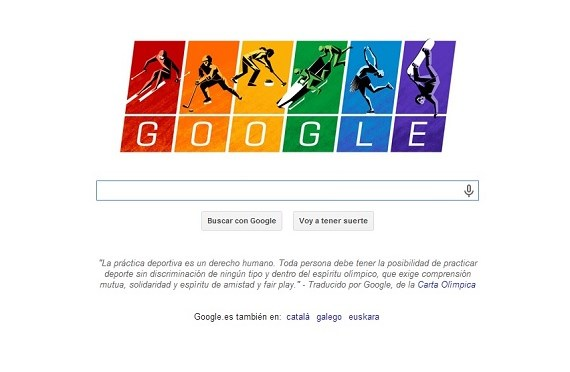 Google apoya hoy con su doodle a la comunidad gay