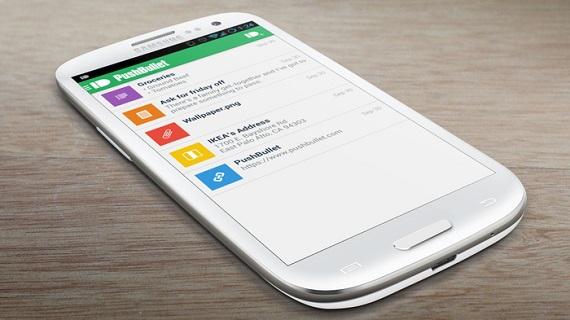 Pushbullet, las notificaciones de tu smartphone en el ordenador
