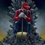 Descubre como sería Juego de Tronos adaptado al mundo de Super Mario Bros