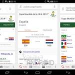 Google Search nos mantendrá informados de todo lo que suceda en el Mundial de Fútbol