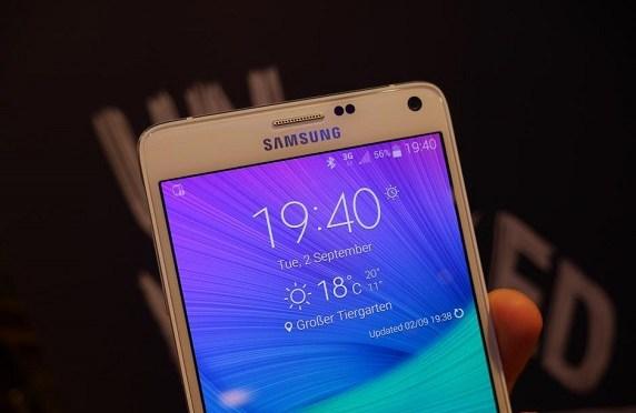 Samsung anuncia el precio oficial del Galaxy Note 4 y da muestras de su resistencia