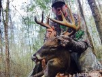 Marion County, Georgia produced another big buck for Capt. Adam McKeon.