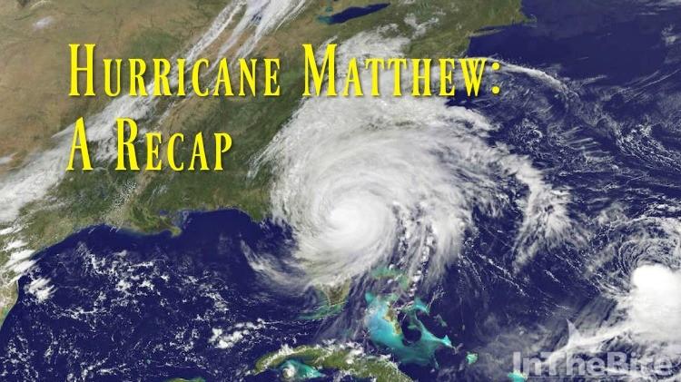 From Key West to Martha's Vineyard, all eyes were on Hurricane Matthew.