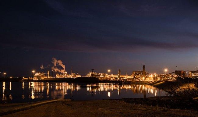 South 32's Worsley Alumina refinery near Collie, Western Australia.