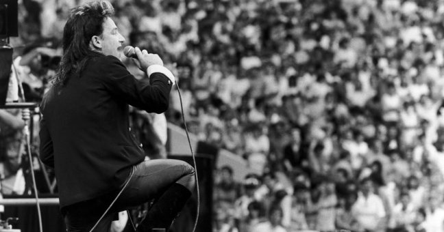 U2 Bad Live Aid