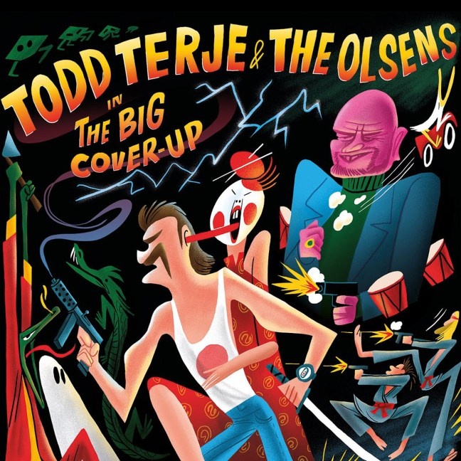 Todd Terje & The Olsens - The big cover-up