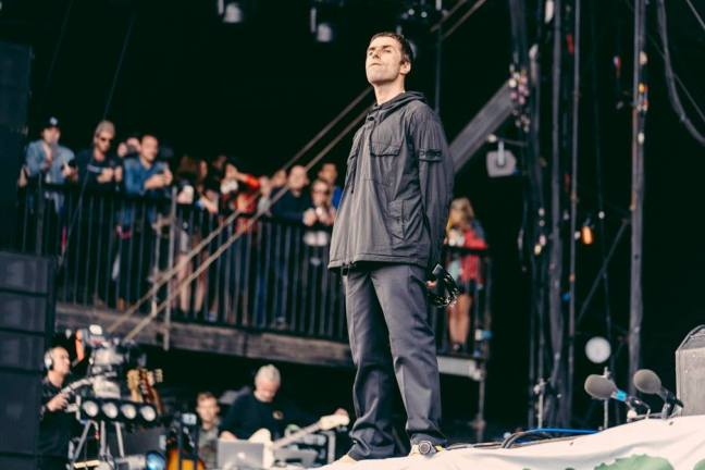 Liam Gallagher al Festival di Glastonbury