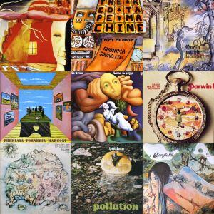Copertine progressive rock