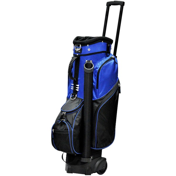 2017 Rj Sports Spinner Golf Cart Bag With Wheels - Black